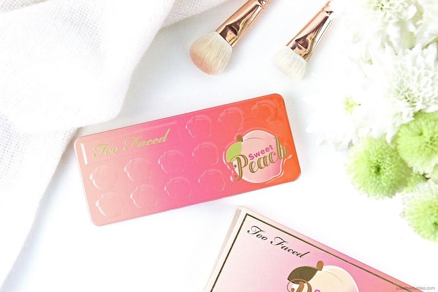 La palette Sweet Peach de Too Faced, sortie prévue le 26 décembre ! julieetsesfutilites.com