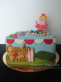 sugar paste cake Candy Crush