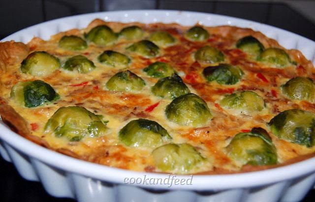 Τάρτα με λαχανάκια Βρυξελλών / Brussels Sprouts Tart