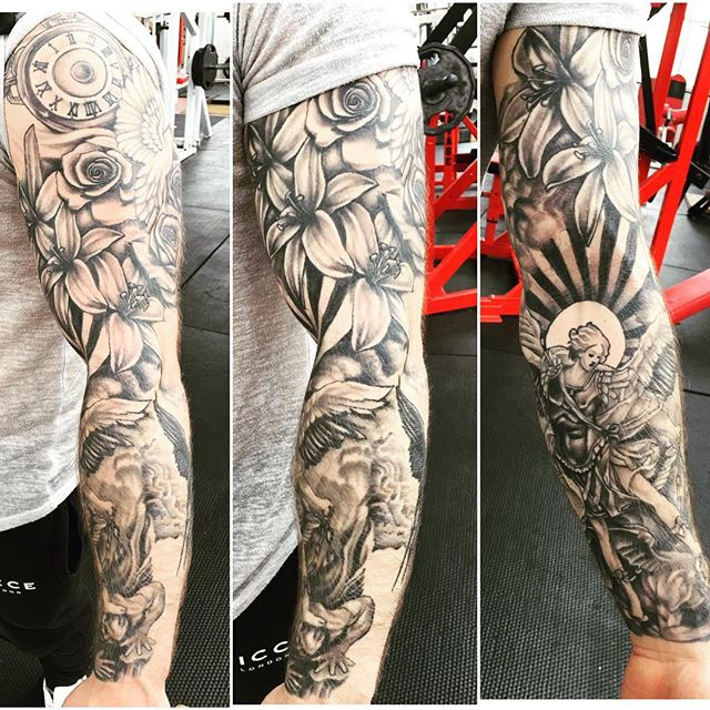 Kumpulan Gambar Tato Malaikat Keren, Koleksi Wahok Terbaru / Tattoo 3D Angel