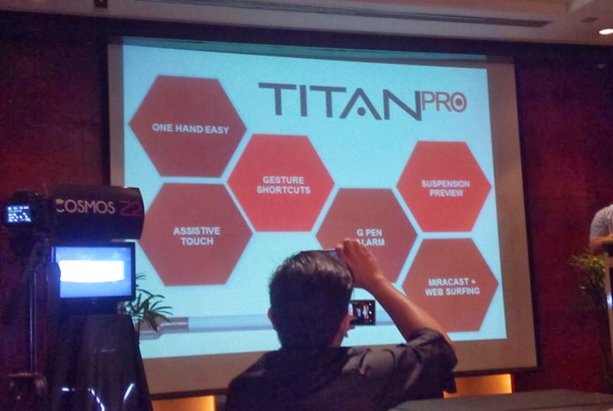 Cherry Mobile Titan Pro Key Features