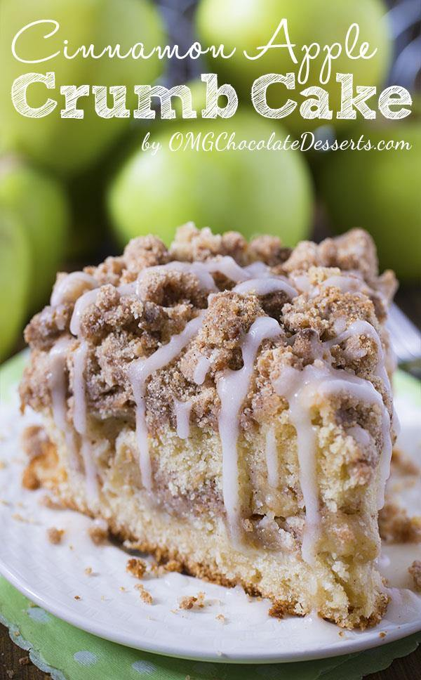 Cinnamon Apple Crumb Cake #Cinnamon #Apple #Crumb #Cake #Dessert