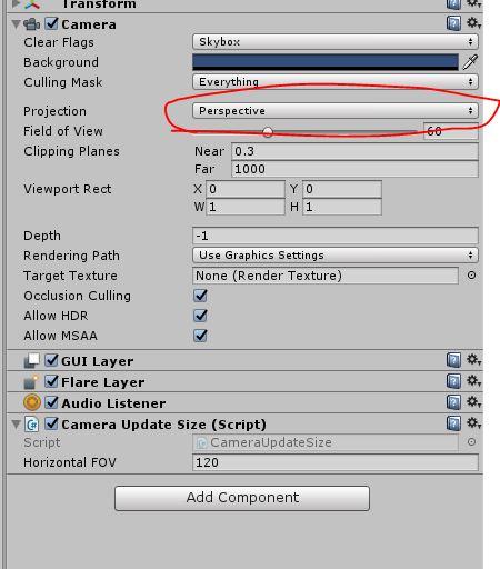 Unity] การปรับขนาด Fov camera เมื่อจอมือถือ aspectRatio แต่ละรุ่นไม่