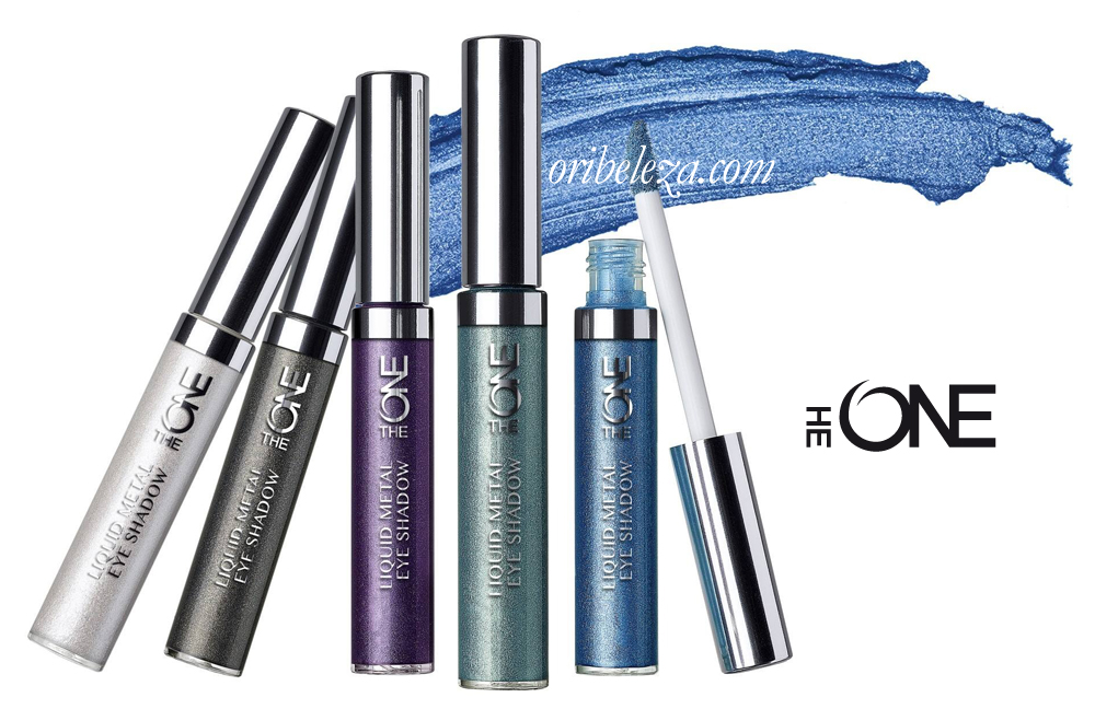 Sombra de Olhos Liquid Metal The ONE da Oriflame