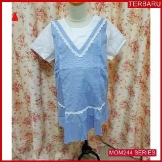 MOM244B18 Baju Atasan Hamil Veliska Menyusui Bajuhamil Ibu Hamil