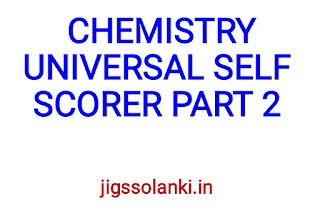 CHEMISTRY UNIVERSAL SELF SCORER PART2