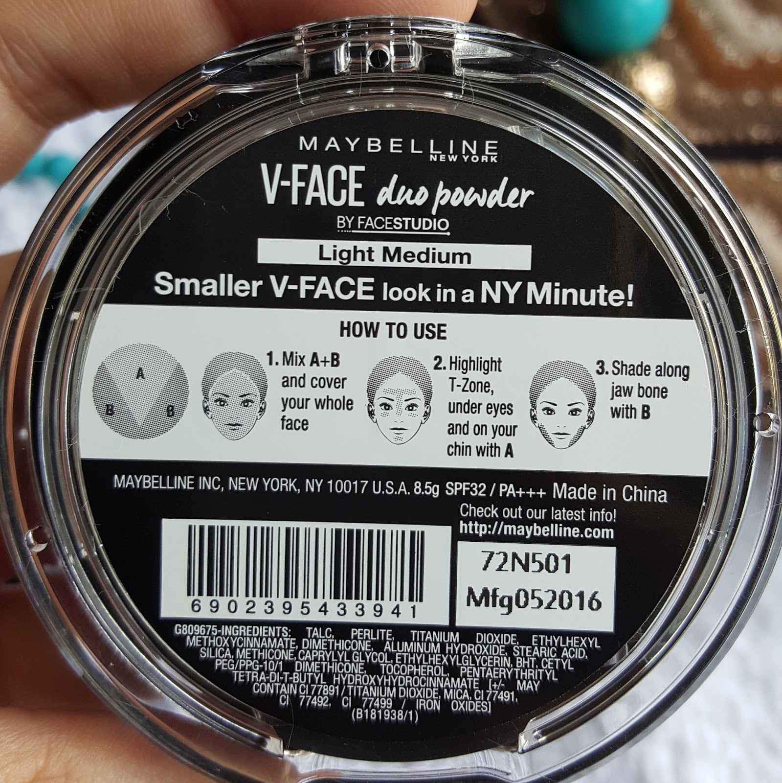 Ridzi Makeup Maybelline Face Studio V Shape Powder 01 Light Med You Can Use Both The All Over And Then Darker Shade On Contouring Areas While Lighter Highlighted Has A Mineralize