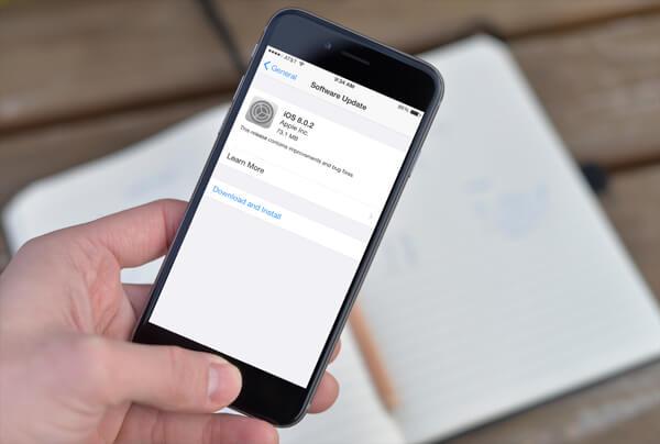 Install Update iOS Tanpa iTunes