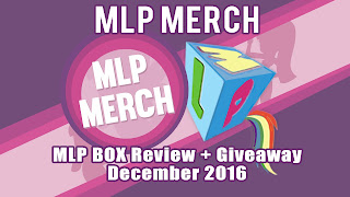 Review + Giveaway - MLP Box (December)