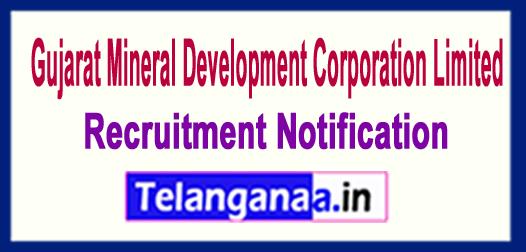 Gujarat Mineral Development Corporation GMDC Recruitment Notification 2017