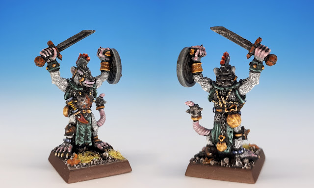 Flench Packlord, Skaven C47 (Citadel, Jes Goodwin, 1986)