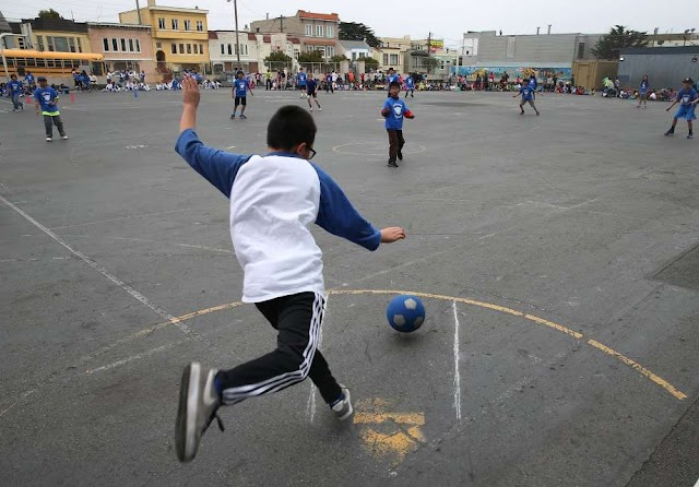 Who Remembers Playing KickBall in School #WhenWeWereKids ???