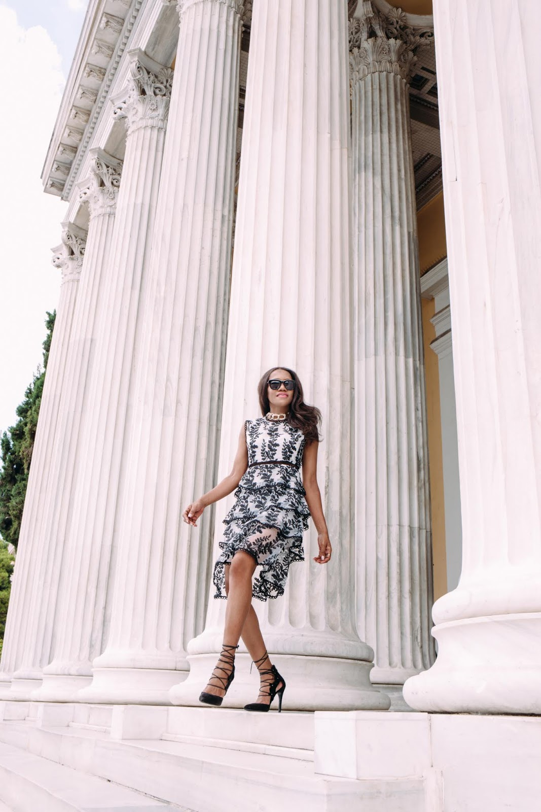 Stylewe And Just Fashion Now: Charlotte's Lookbook : EMBROIDERED MIDI DRESS @STYLEWE