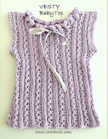 knit patterns, how to knit, baby top, sleeveless,