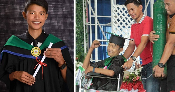 Student with rheumatic heart disease defies odds, attends graduation