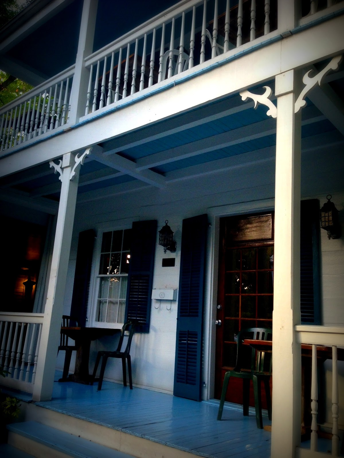 Come Home to Paradise: Key West Traditions: Blue Porch