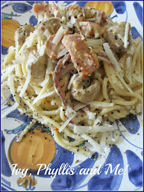 SPAGHETTI WITH BOURSIN CHEESE