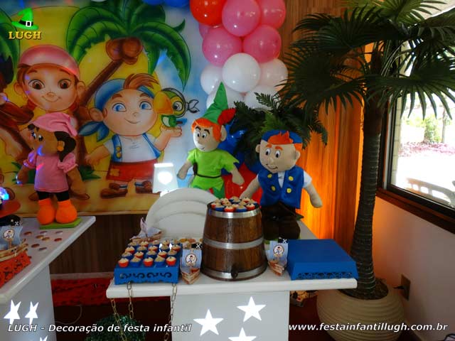 Decoração infantil Jake e os Piratas - Festa infantil