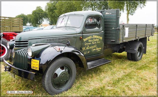 camion Chevrolet de 1947 aux vieilles mécaniques.