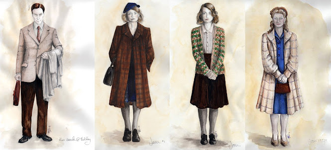 Keira and Benedict costumes The Imitation Game