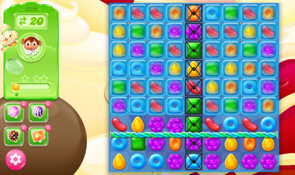Candy Crush Jelly Saga 329