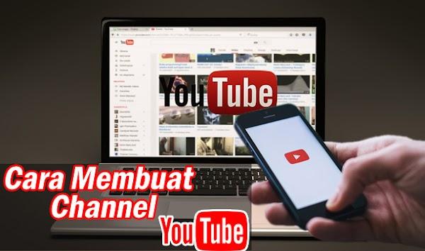 Cara Membuat Channel Youtube Untuk Pemula [sangat mudah]