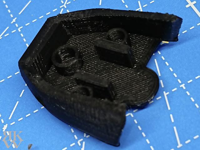 Anycubic i3 Mega 3Dプリンターでガンプラパーツ自作 ザクキャノン 足首