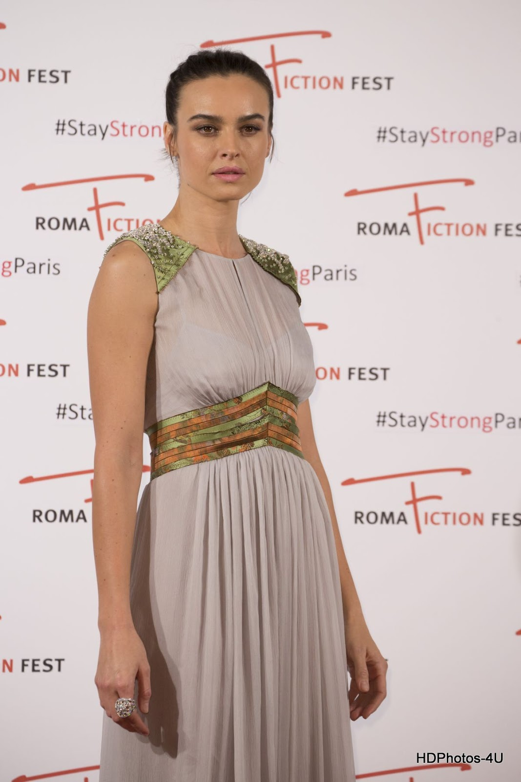 'Perfect Strangers' actress HQ Photos of Kasia Smutniak At 9th Roma Fiction Fest Limbo Red Carpet At Cinema Adriano In Rome