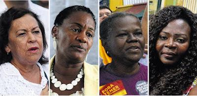 Só duas chapas majoritárias na Bahia têm mulheres