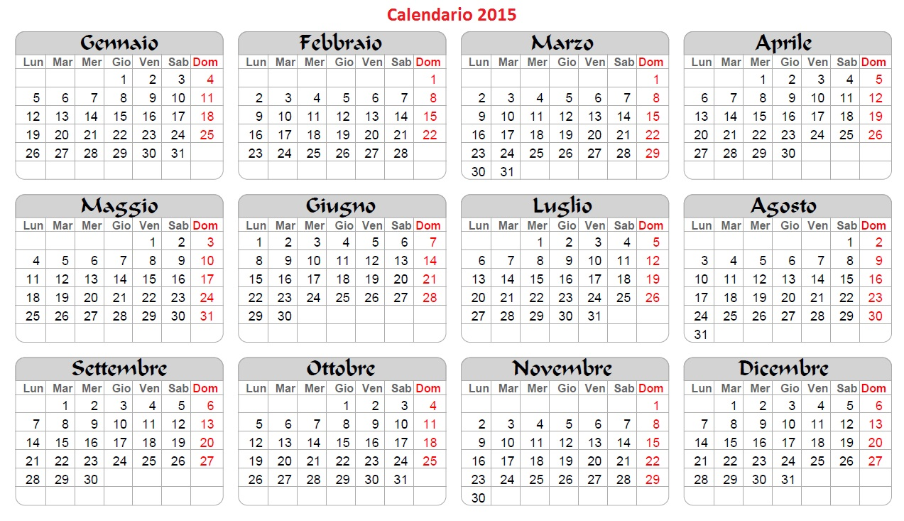 calendario 2014 tascabile da