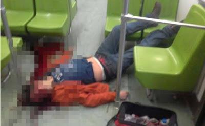 Hombre murió en el metro por asomarse por la ventana