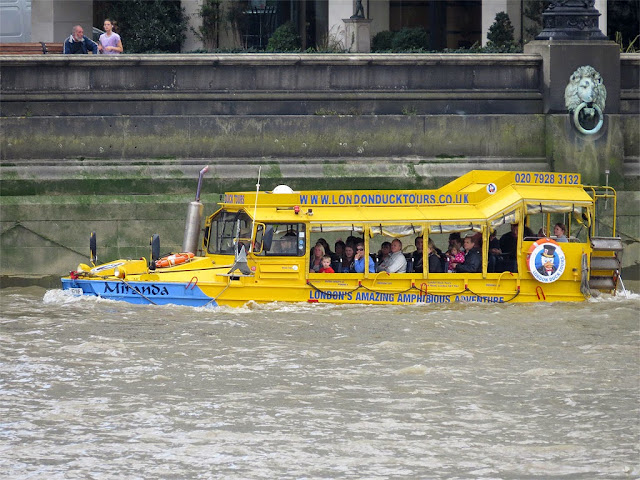 DUKW Miranda of London Duck Tours, London