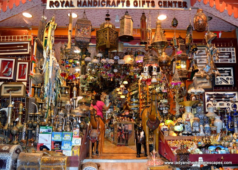 eye-catching shop in Mutrah Souq