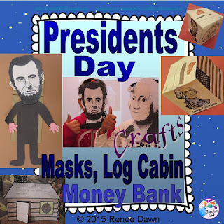 https://www.teacherspayteachers.com/Product/Presidents-Day-Crafts-1695285