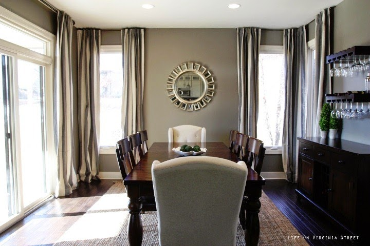 great wall colors for dining rooms