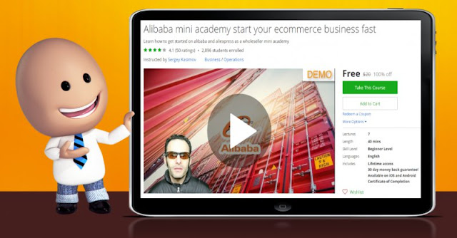 [100% Off] Alibaba mini academy start your ecommerce business fast| Worth 20$