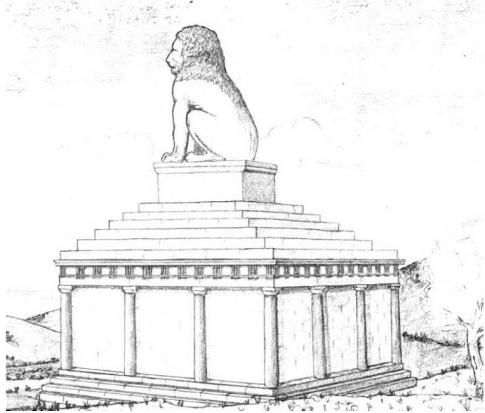Ο Λέων της Αμφίπολης,  δεν είχε  συναρμολογηθεί ποτέ στην αρχαιότητα.