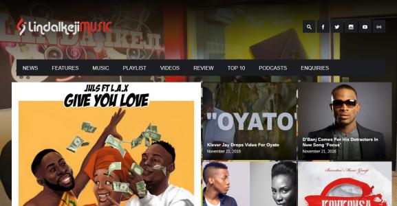 Linda Ikeji Launch A Music Website LindaIkejiMusic.com