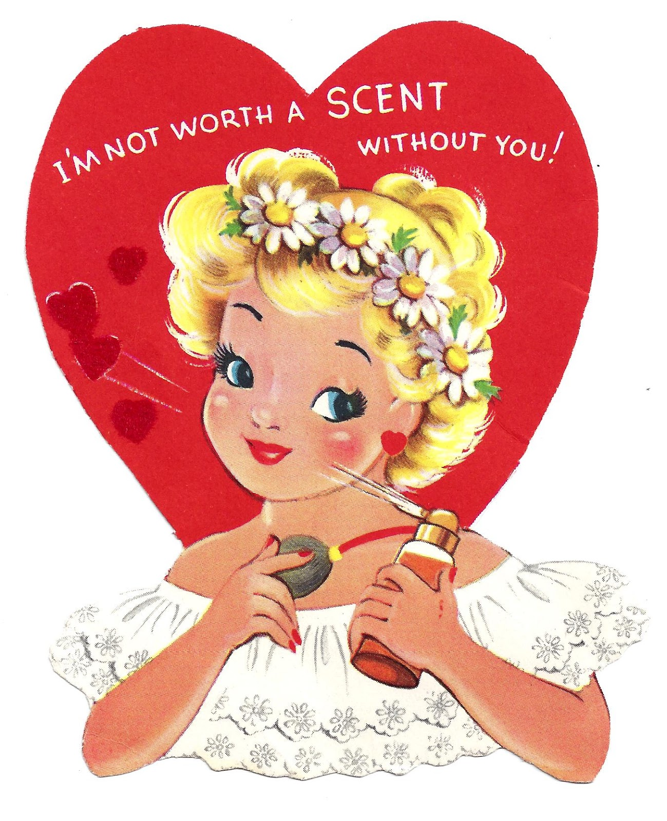 Schön Old Valentines  Corny Sayings