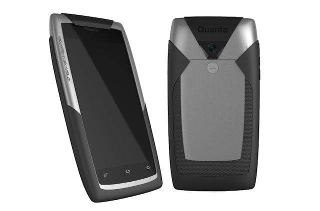 Blackberry Quanta | Rugged Phone | Waterproof and Shockproof