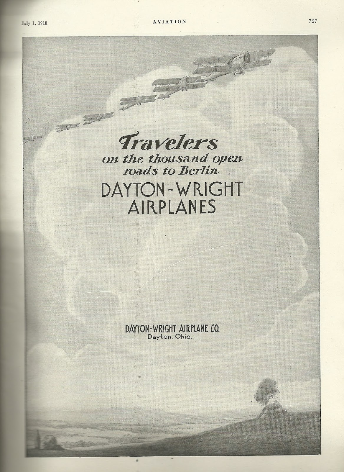 Getting the story wright just how many wright aviation companies dayton wright airplane co july 1 1918 issue of aviation aeronautical engineering malvernweather Images