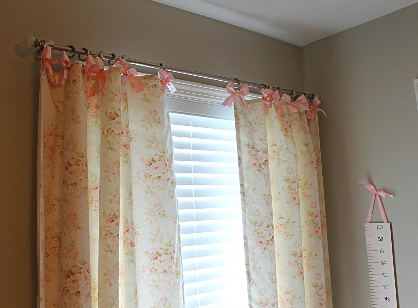 Shabby chic wall decor nursery - Front Porch Lemonades Shabby Chic Nursery Curtains