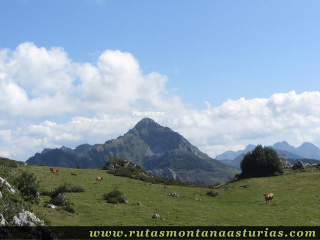 Ruta circular de Taranes al Tiatordos: Majada del Tiatordos con el Maciédome
