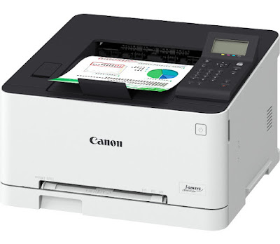 along alongside a slightly simpler equipped sis model Canon i-Sensys LBP613Cdw Driver Download