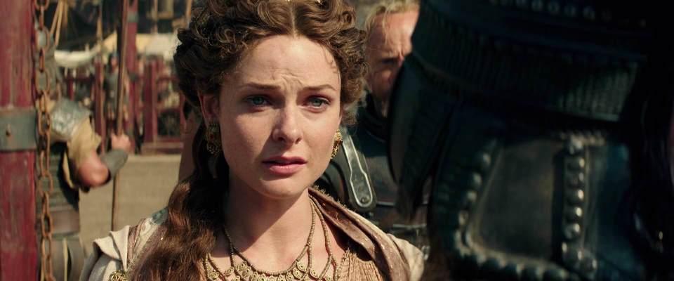Movie And TV Cast Screencaps: Rebecca Ferguson As Ergenia