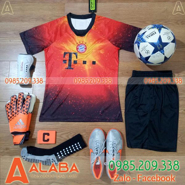 Áo CLB Bayern Munich 2019 Màu Đỏ