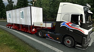 Cabane de chantier trailer