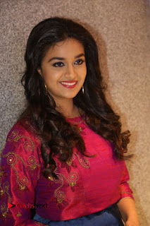 Actress Keerthi Suresh Stills at Remo Success Meet  0078.JPG