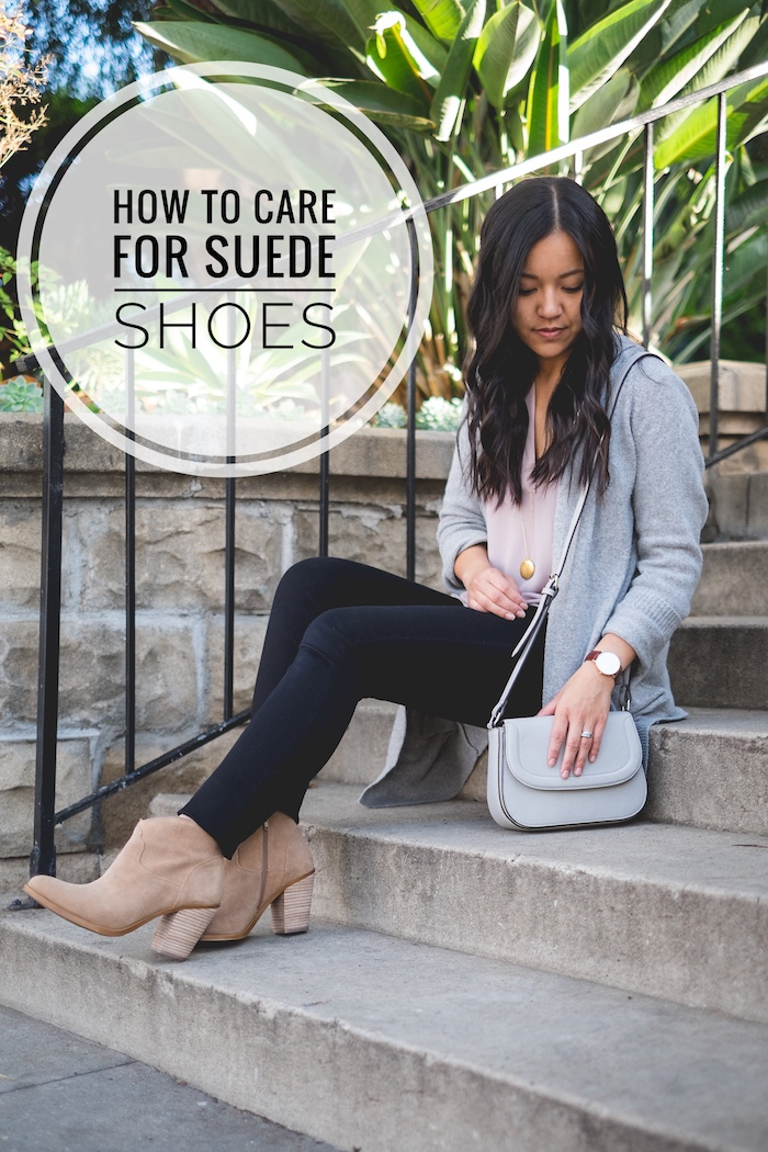 Putting Me Together: Caring for Suede Boots