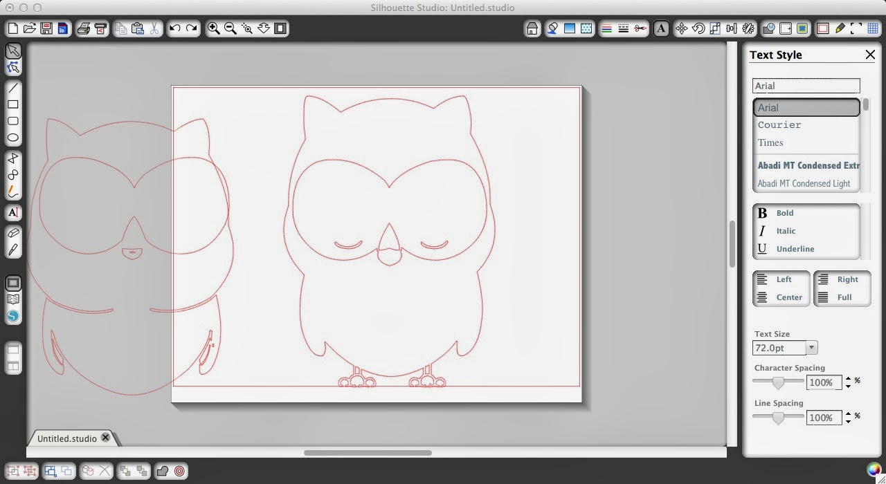 Fonts, Silhouette, friendly, Silhouette tutorial, owl, ungroup, release compound path